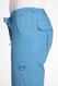 Mobb Comfort Rise Drawstring Elastic Scrub Pants light blue
