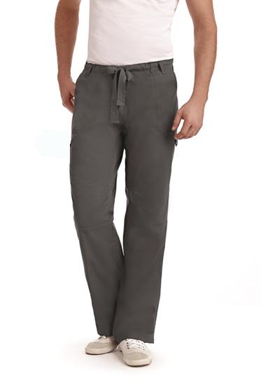 Mobb Comfort Rise Drawstring Elastic Scrub Pants gray
