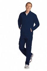 Mobb Men's Fleece Warm-Up Zipper Jacket