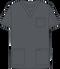 Mobb V-NECK UNISEX SCRUB TOP gray