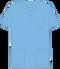Mobb V-NECK UNISEX SCRUB TOP sky blue