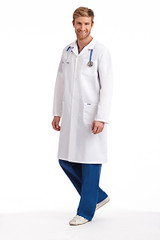 Mobb Full  Length unisex Lab Coat with Snaps
