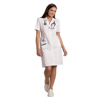 Mobb Zip front Scrub Dress