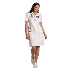 Mobb Zip front Scrub Dress