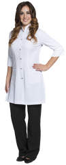 Joanne Martin Long Mandarin Lab Coat
