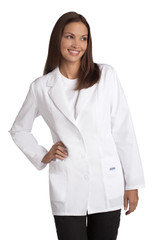 Mobb Ladies Fitted Fashion Lab Coat Lightweight Sku:L390
