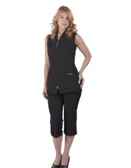 Carolyn Design Zippered Vest