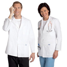 Mobb Unisex half Length Lab Coat Group
