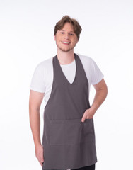 Carolyn Design Men V-Neck Apron