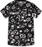 Mobb 100% COTTON CROSSOVER TOP Front view Deja Vu