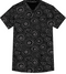 Mobb 100% COTTON CROSSOVER TOP Front view Stone Melody