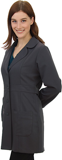Excel 4Way Stretch Designer Jacket - Gray