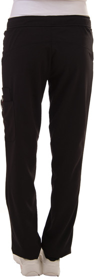 Excel 4-Way Stretch Fitted Pant - Black
