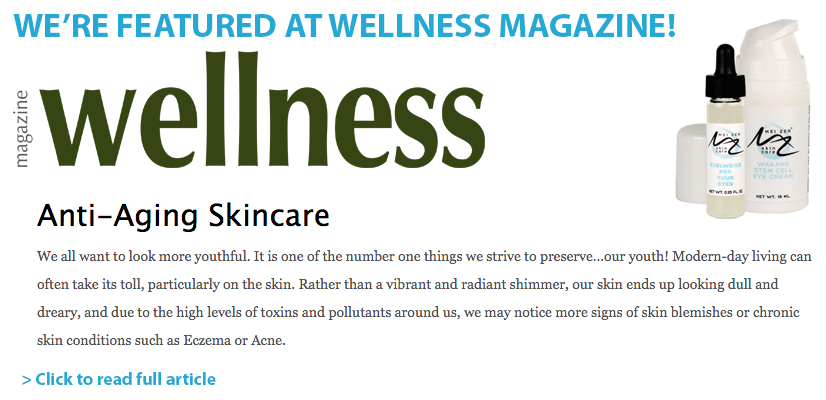 WE'RE FEATURED AT WELLNESS MAGAZINE!