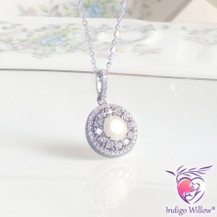 Flora Soleil Breast Milk Necklace (Limited Edition)
