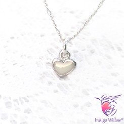 Cute Breast Milk Heart Pendant/Charm