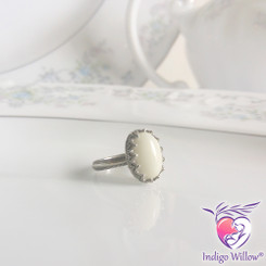 Timeless Crown Collection™ Royal Breast Milk Ring (Silver or Solid Gold)