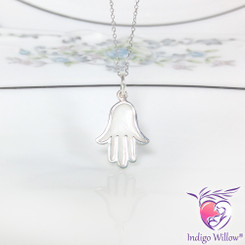Protective Hand Breast  Milk Charm