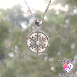 Glimmering Light Breast Milk Snowflake (Limited Edition Item)