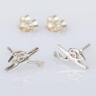 Sculler Earrings - Studs