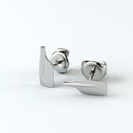 Rowing Blade Stud Earrings