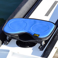 The Skwoosh™ gel seat row pad in royal blue. Also available in black, pink or red.
