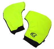 2-Piece HiViz Sculling Pogies are available in High-Visibility Green. These are hard to lose at the boatyard, bottom of your sports bag or in the back of your car!