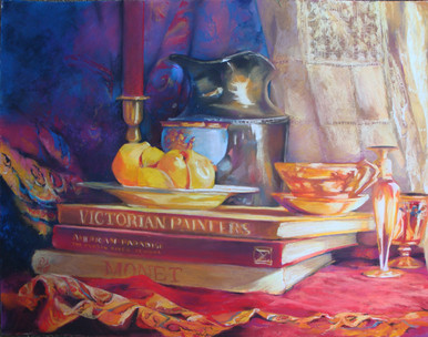 """American Paradise  Original pastel painting by Karen Vernon  Pastel on mounted Uart paper  Picture Image Size: 21"""" x 27"""" Available at Thomas Leath Gallery in Waco, Texas  Ships Framed with ArtGlass  Ships in USA only"""
