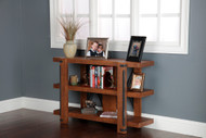 Three-shelf Industrial Bookcase - 30-inch