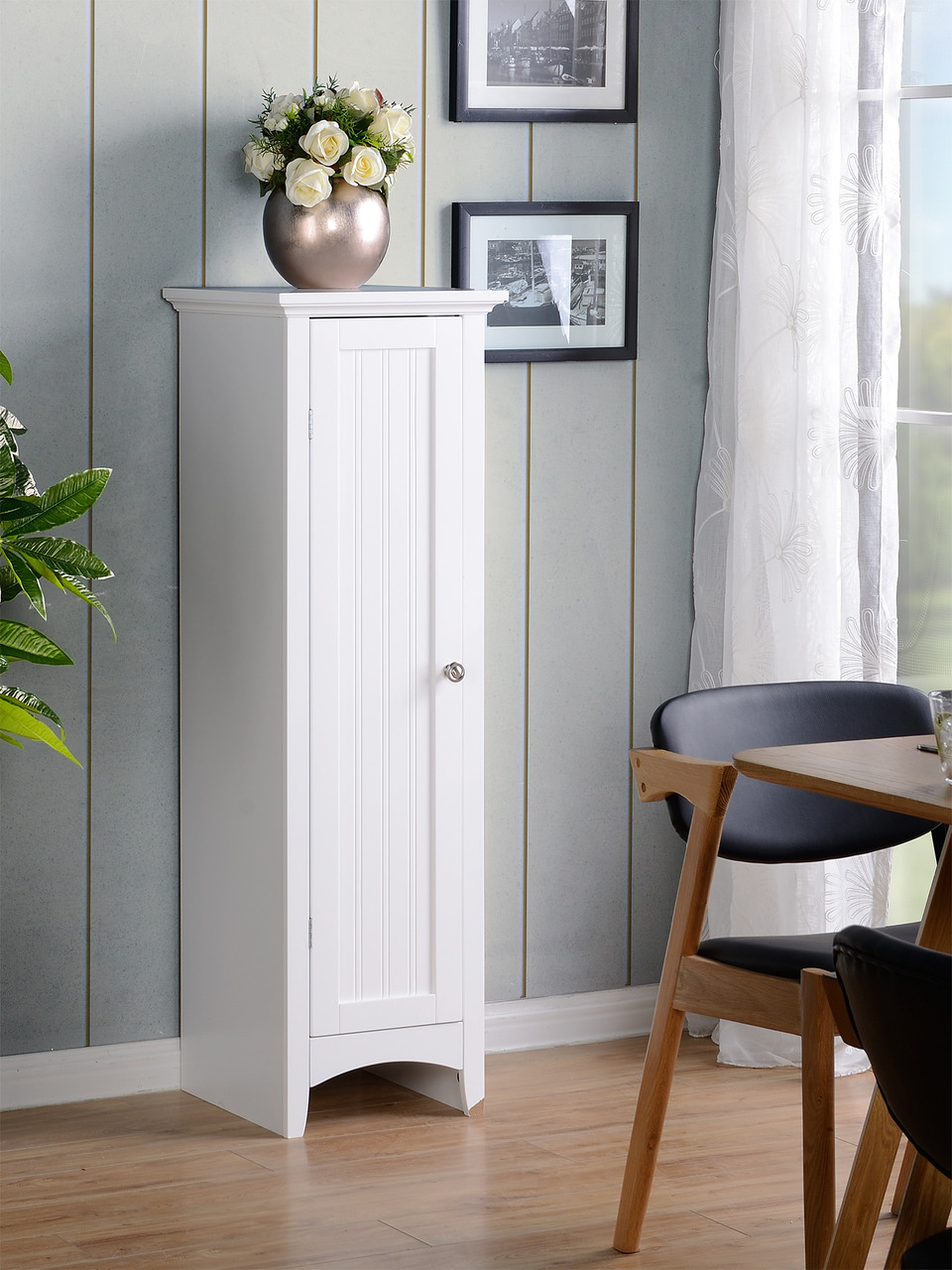 OS Home and Office White Storage Pantry