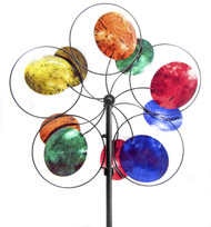 OS Home and Office Furniture Model 622199 Cosmic Colors Wind Spinner