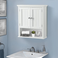 OS Home and Office Furniture Two Door Wall Cabinet with shelves