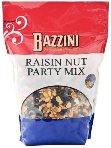 Large   Pouch Raisin Nut Party Mix