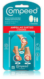 COMPEED Blister assorted  5 plasters