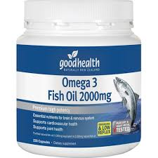 GOOD HEALTH Omega 3 Fish Oil  2000mg 230 caps