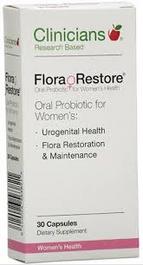 CLINICIANS Flora Restore 30 caps Probiotics