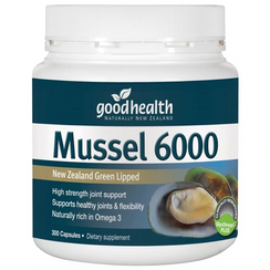 GOOD HEALTH Mussel 6000mg 100 caps