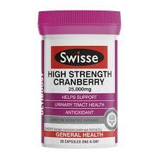 SWISSE UB High Strength Cranberry 30 capsules