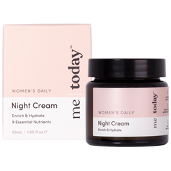 me today Women's Daily Night Cream 50ml