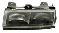 1990-1996 Chevy Corsica Pontiac Tempest Single Front Left Head Lamp 16505533