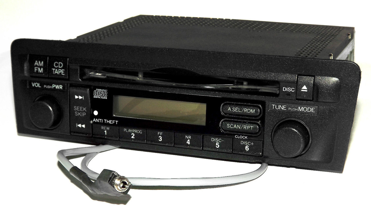 Honda Civic 2001-2003 Radio AM FM CD Aux Input W Code