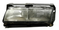 1988-1989 Pontiac Grand Prix Single Front Left Head Lamp with Bulbs 16508235
