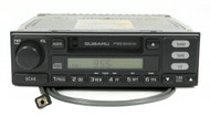 2001-2002 Subaru Forester AM FM Cassette With Auxiliary Mod 86201FC070 Face P122