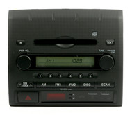 07-08 Toyota Tacoma AMFM Radio Single Disc CD Player 86120-04111 Face ID A51838