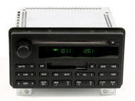 03 Ford Expedition OEM AM FM Radio Single Disc CD Player Cassette 3L1T-18C868-AA