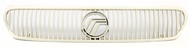 1995-1997 Mercury Special White Single Original Grille with Emblem F5RZ8200AAA
