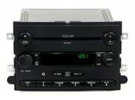 07 Mercury Mountaineer Ford Explorer AM FM 6 CD Radio w Aux Input 7L8T-18C815-MA