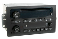 Chevy Malibu Impala Cavalier 2000-05 Radio AMFM CD w Upgraded Aux Input 10346316