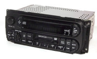 Jeep Chrysler Dodge 02-06 AM FM CD Cassette Car Truck Radio - P05091605AC - RAZ