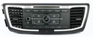 13-15 Honda Accord AM FM CD Player Auxiliary Radio with Air Vents 39100-T2A-A220